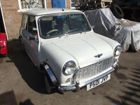 CLASSIC MINI MPI GREAT CONDITION LOW MILAGE LONG MOT BARGAIN