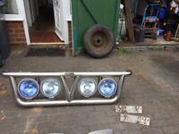 Truck grill lightbar