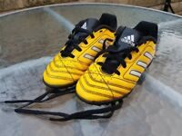 Kids Adidas Football Boots - size 10