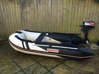 Suzumar inflatable dinghy package DS-265