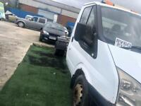 2007 56reg Ford Transit 110 T350m 2.4 Tdci chassis Cab ideal recovery