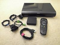 Sky HD 2TB 3D box with Wi-Fi box, remote, HDMI cable and dish