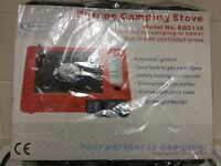 Butane camping stove brand new still packaged