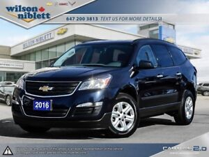 2016 Chevrolet Traverse LS 1 OWNER, ACCIDENT FREE