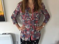 Superdry Checked Shirt size 8