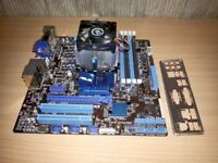 AMD FX-6100 3.3GHz CPU and Asus M5A78L-M/USB3 Micro ATX Motherboard
