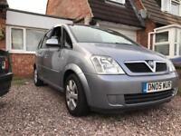 Vauxhall Meriva low mileage bargain