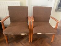 Parker Knoll 733 Mk2 Compact Armchairs