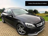 Mercedes-Benz C Class C 220 D 4MATIC AMG LINE (black) 2016-11-21