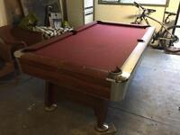 American pool table £150 ONO