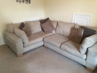 Sofa, Next 4 seater left hand corner, mink