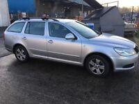 SKODA OCTAVIA ESTATE MANUAL 2012/62 5 DOOR GREENLINE 2 £20 TAX EX SALES REP CAR MOTORWAY MILES FSH
