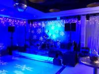 PA hire and Stage Lighting for Band and Events