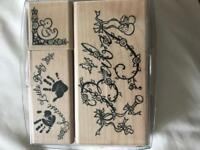 New Baby rubber stamps