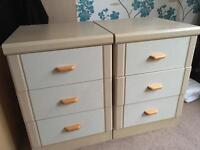 3 drawer units