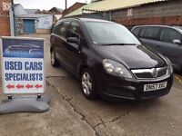 VAUXHALL ZAFIRA - 2007 - 7 SEATER - 15 MONTHS WARRANTY INCLUDED - SERVICED WITH NEW PADS & DISCS