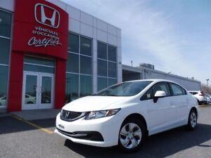 2013 Honda Civic LX  *** À partir de 52.97$ par semaine