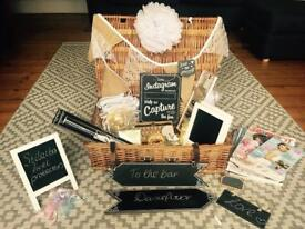 Wedding Starter Kit - rustic/vintage style accessories - Great Condition