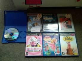 Kids playstation 2 game bundle