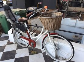 City bike with kiddie seat at bargain price of £250
