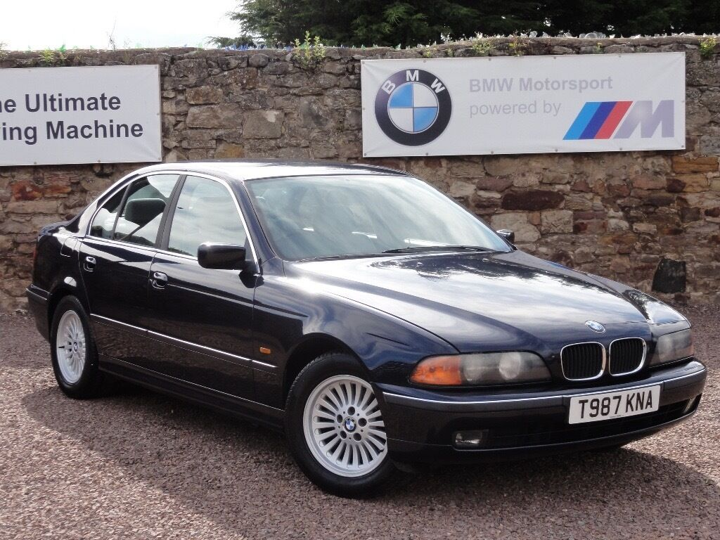 bmw e39 523i se saloon manual 1999 t reg 88k miles. Black Bedroom Furniture Sets. Home Design Ideas