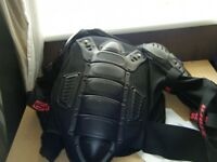 motocross body armour will fit large child or small adult