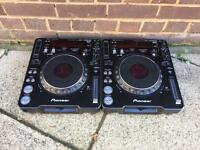 PIONEER CDJ 1000 MK3 PAIR DJM DDJ