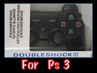 PS 3 DUAL SHACK WIRELESS CONTROL PADS