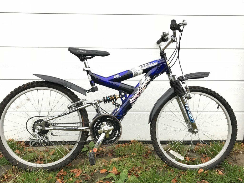 Child S Mountain Bike With Front And Rear Suspension Vgc In