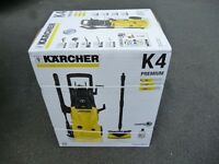 NEW KARCHER K4 PREMIUM HOME PRESSURE WASHER IN ORIGINAL PACKAGING- Can deliver locally