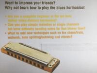 Harmonica Lesson gift voucher