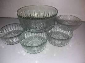 COLLECTION OF QUALITY GLASSWARE