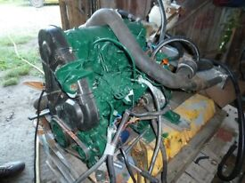 Marinised Peugeot 1.9 diesel engine, Hurth gearbox, stern tube and prop.