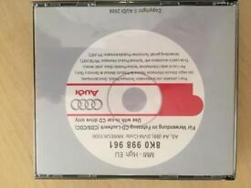 Audi MMI 2G High Update Discs 8K0 998 961