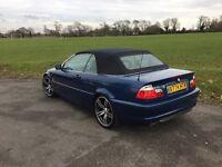 BMW e46 320 Convertible