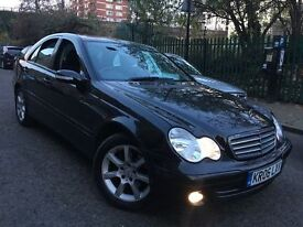 MERCEDES C CLASS 1.8 AUTOMATIC = NEWER SHAPE = £1690 ONLY =