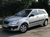 2009 KIA RIO CHILL, 1.4 ENGINE, 5 DOOR HATCHBACK, ONE OWNER FROM NEW & NEW MOT