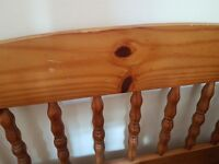Pine Bunk Beds also separate into 2 single beds - chunky pine very sturdy