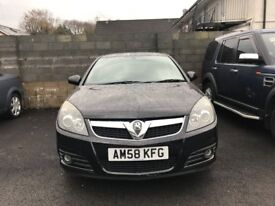 2008 (58 reg) Vauxhall Vectra 1.9 CDTi SRi 5dr Hatchback Turbo Diesel 6 Speed Manual
