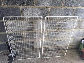 Ikea metal baskets