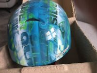 Quick silver crash helmet