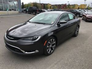 2016 Chrysler 200 C-LEATHER HEATED SEATS, 8.4 TOUCHSCREEN