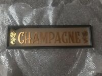 Vintage Style Cocktail Champagne Mirror