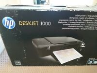 Hp Deskjet 1000 printer - free