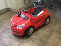 Mercedes drive in/ remote control car