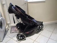Stroller , Mountain Buggy, Phil & Teds Explorer, Pushchair , Phil and Teds , Buggy , Baby Stroller,