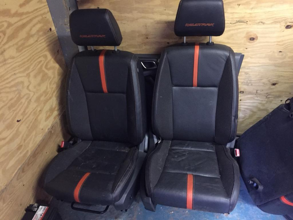 Ford ranger wildtrak leather interior black orange 2012 2017 in bury manchester gumtree for Ford ranger wildtrak interior 2017