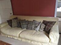Large, comfy 4 seater sofa