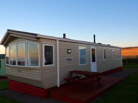 2010 Granada XL static caravan with sea view on quiet site, Cullen, Moray - 8 berth