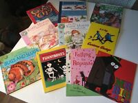 Lovely selection of younger kids books plus assorted Maze Puzzles